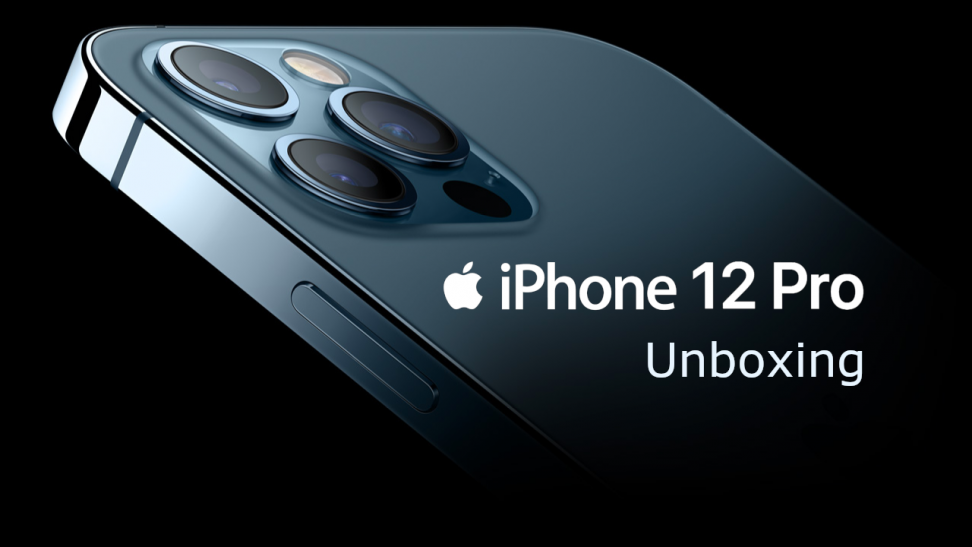 Uboxing iPhone 12 Pro